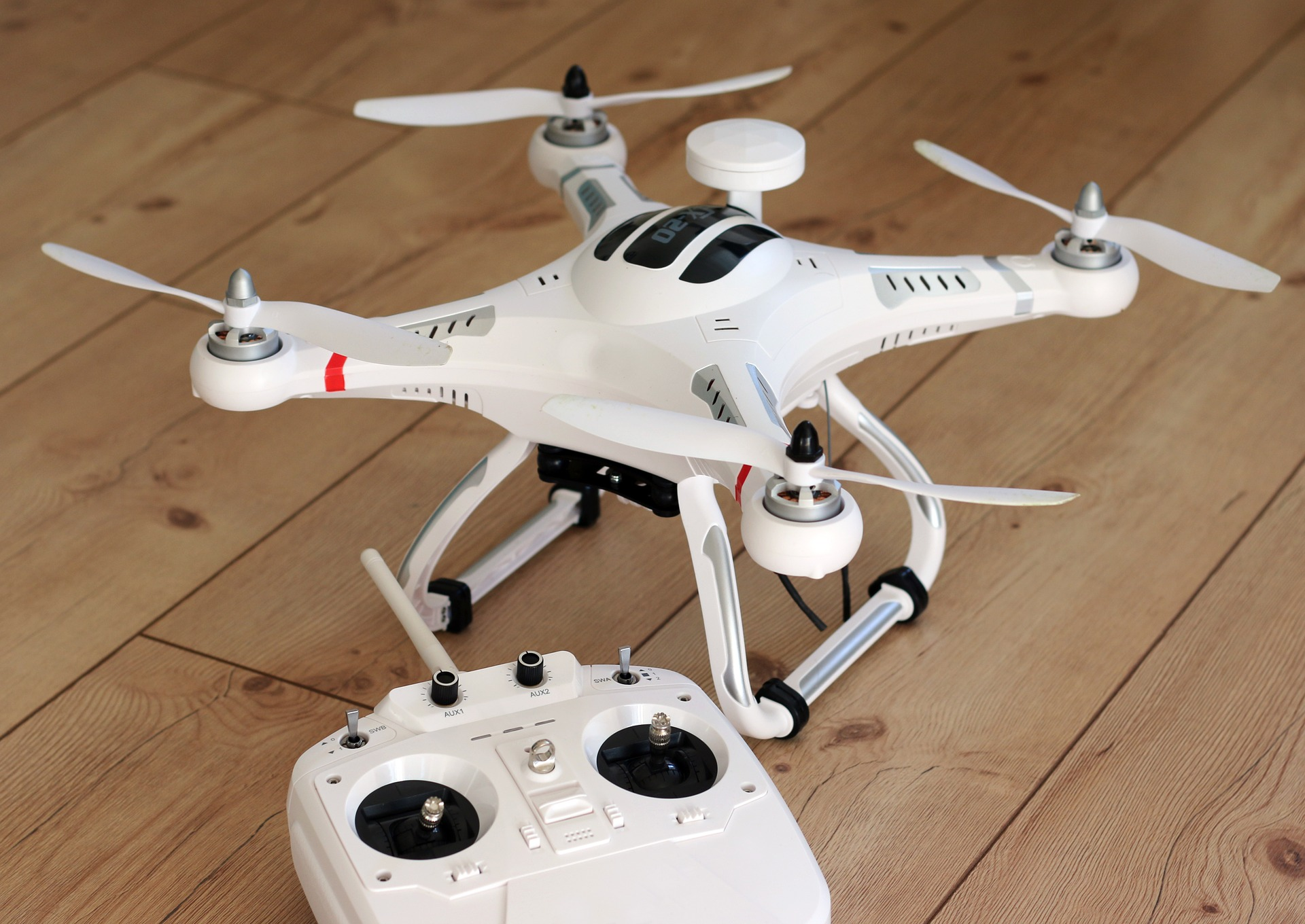 Drone with controller