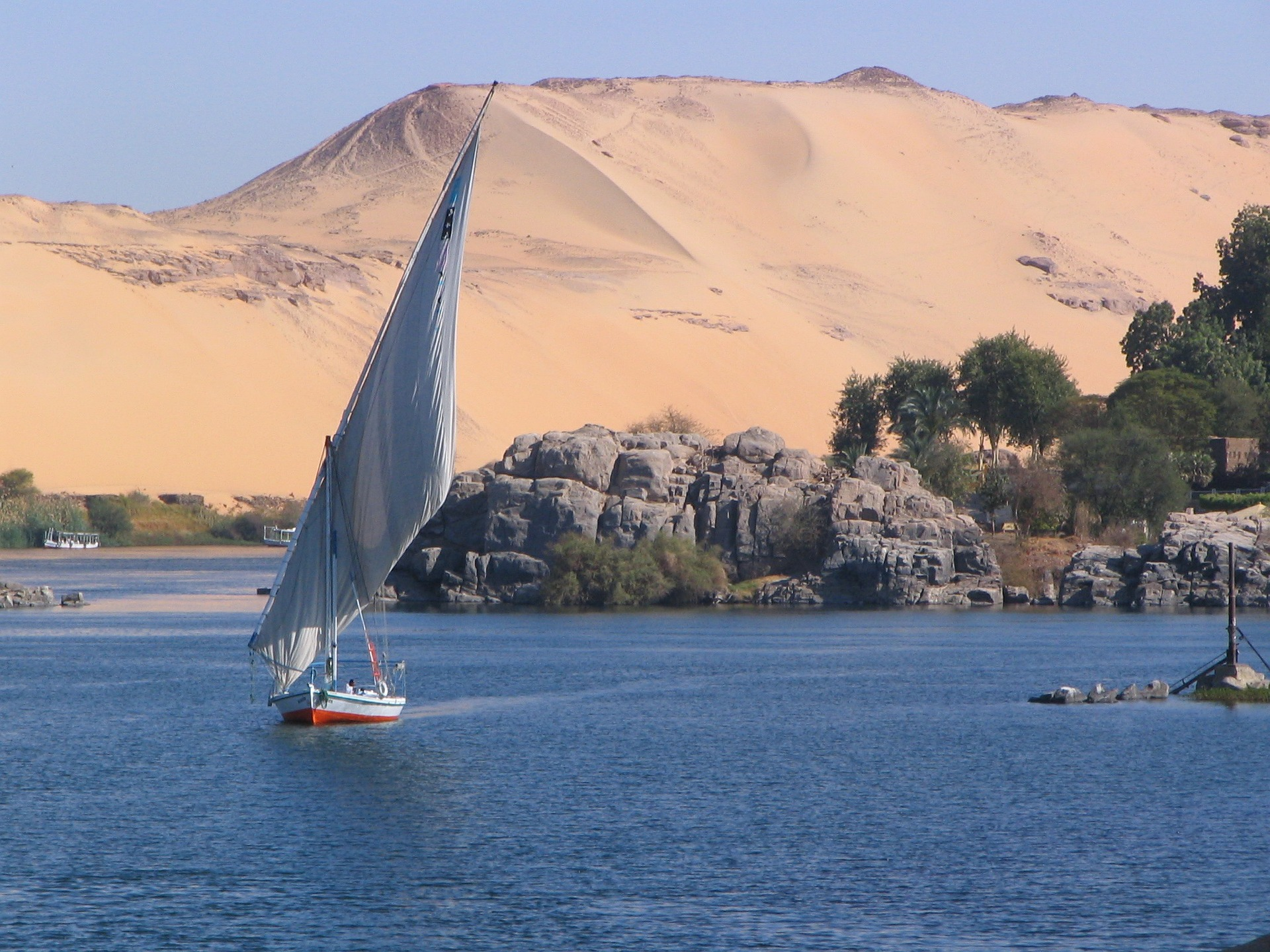 Elephantine, island in the Nile, Egypt