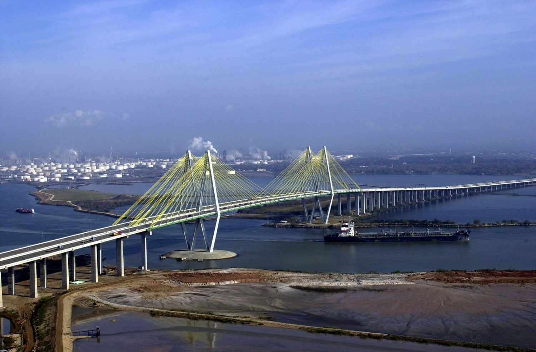 Fred Hartman Bridge, Houston, Texas