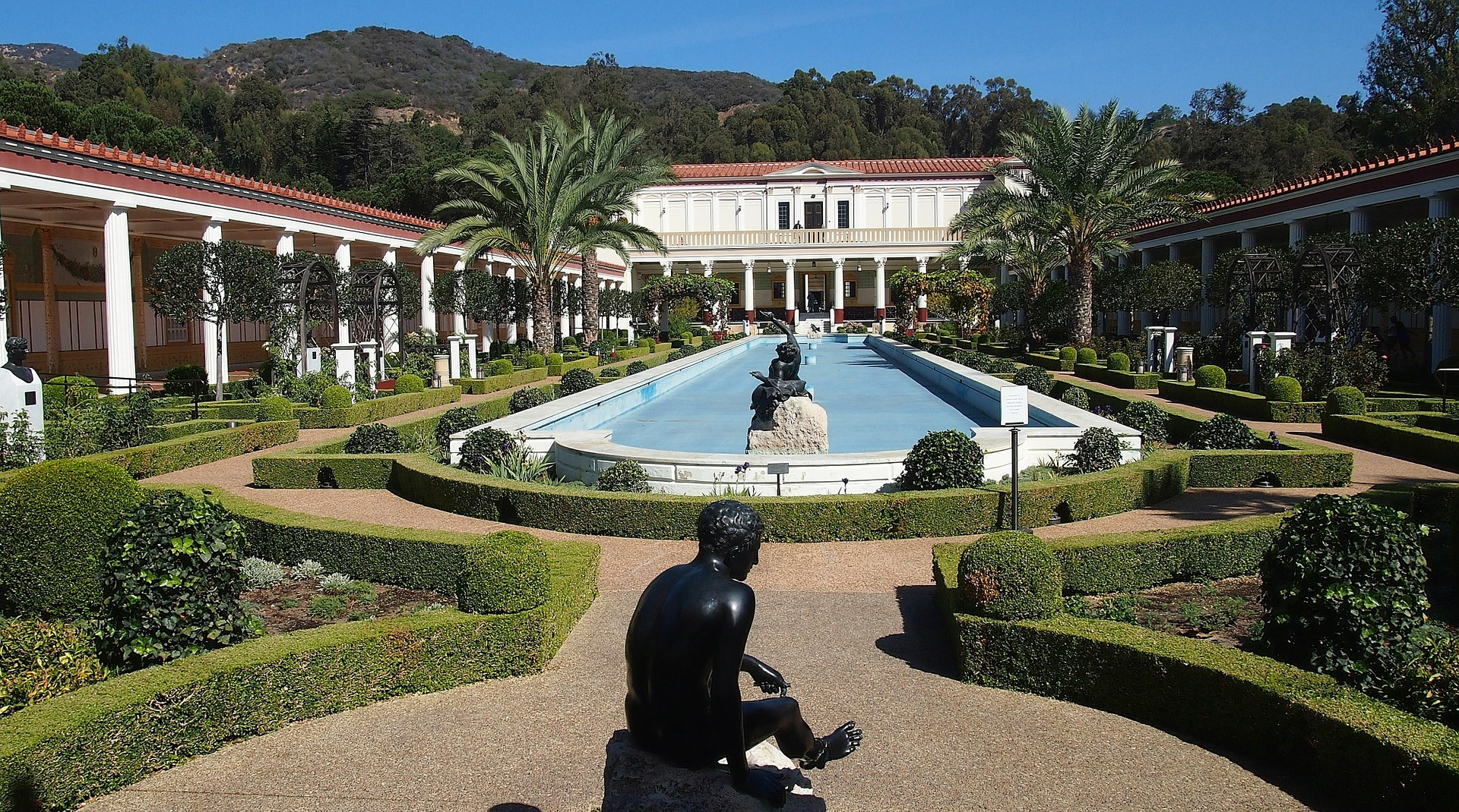 Getty Villa (J. Paul Getty Museum), Malibu, Los Angeles