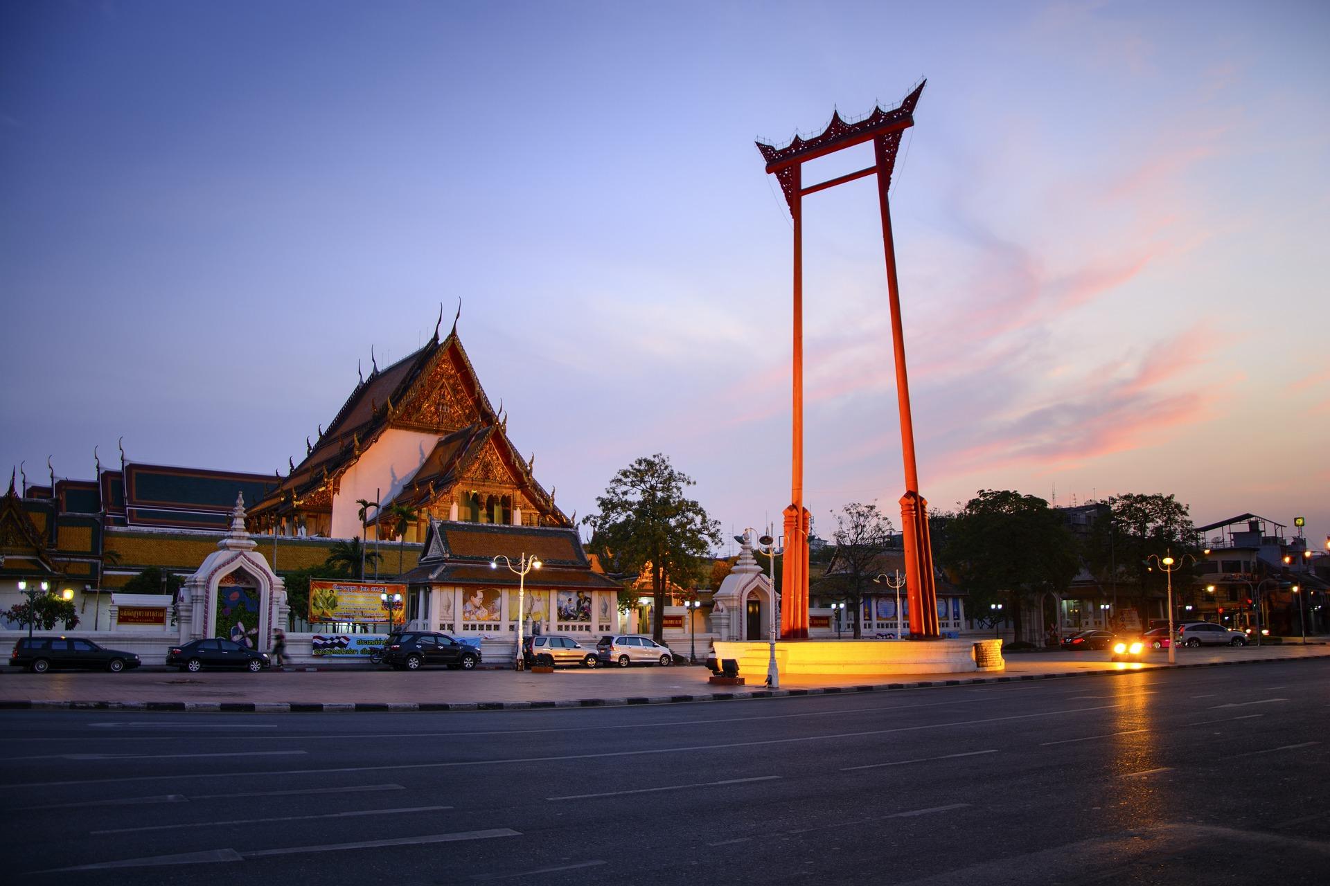 Giant Swing, Bangkok, Thailand