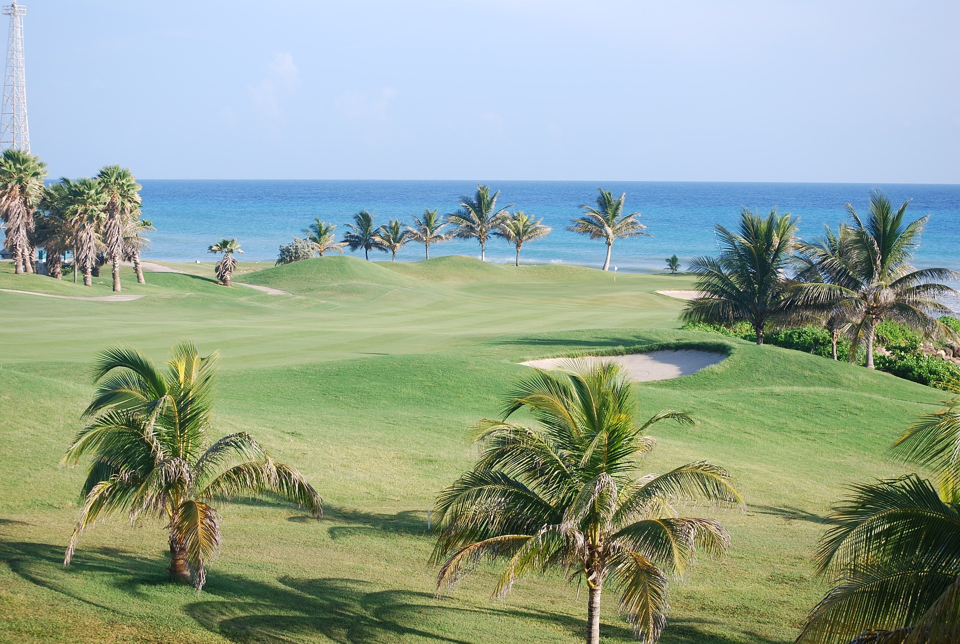 Golf resort in Jamaica