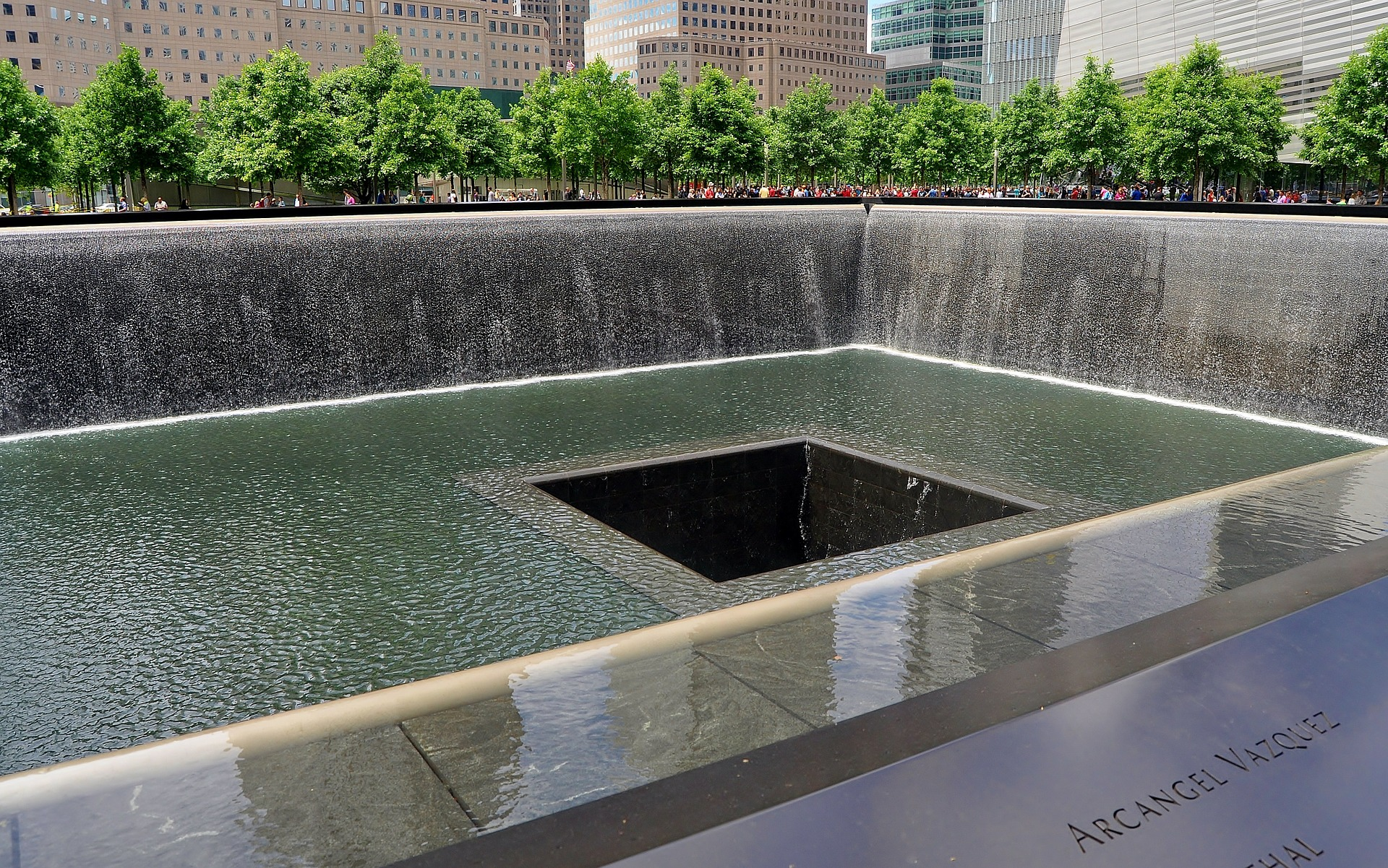 Ground Zero, National September 11 Memorial, New York City