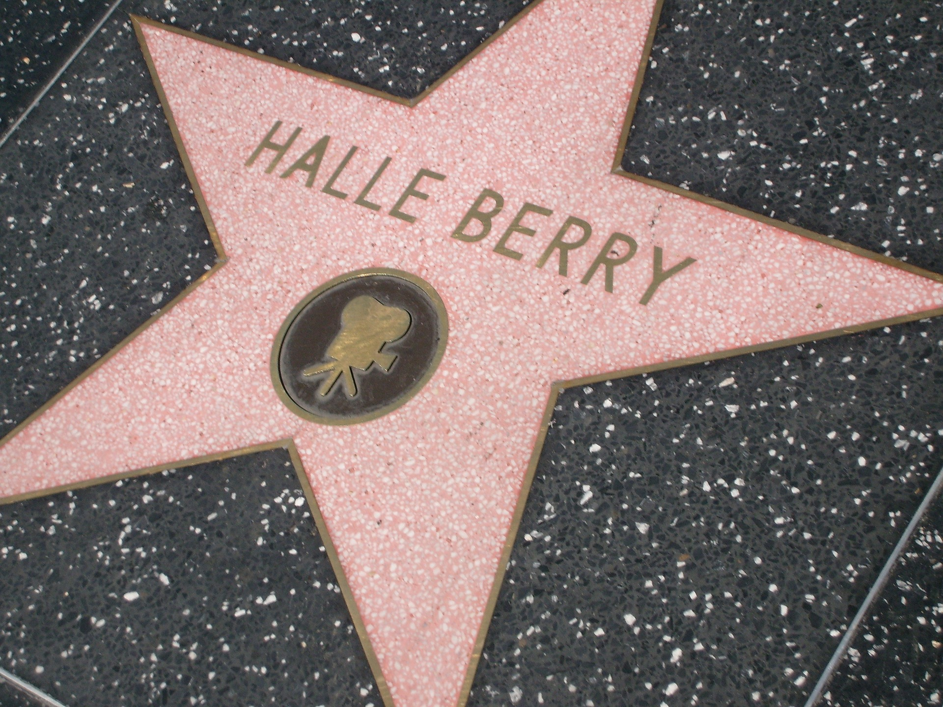 Halle Berry's star on the Hollywood Walk of Fame