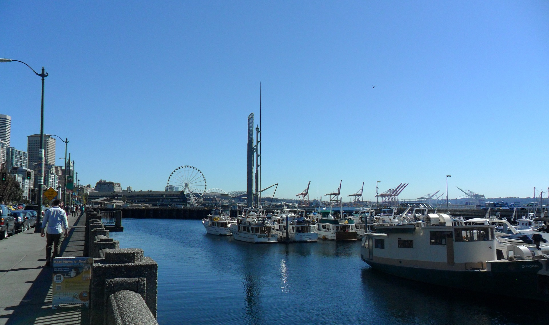 Harbor in Seattle, Washington