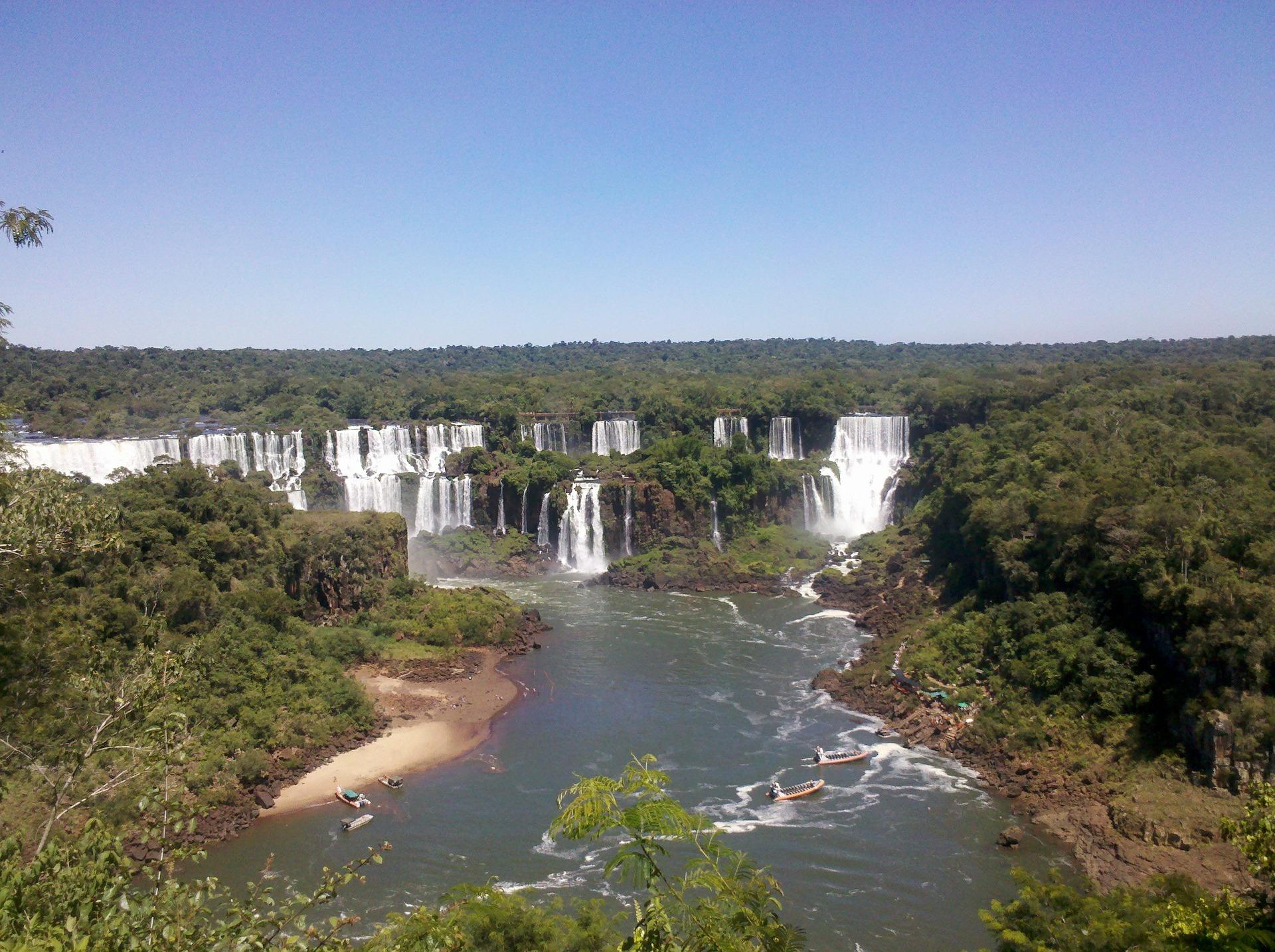 Iguazu Falls, border of Argentina and Brazil