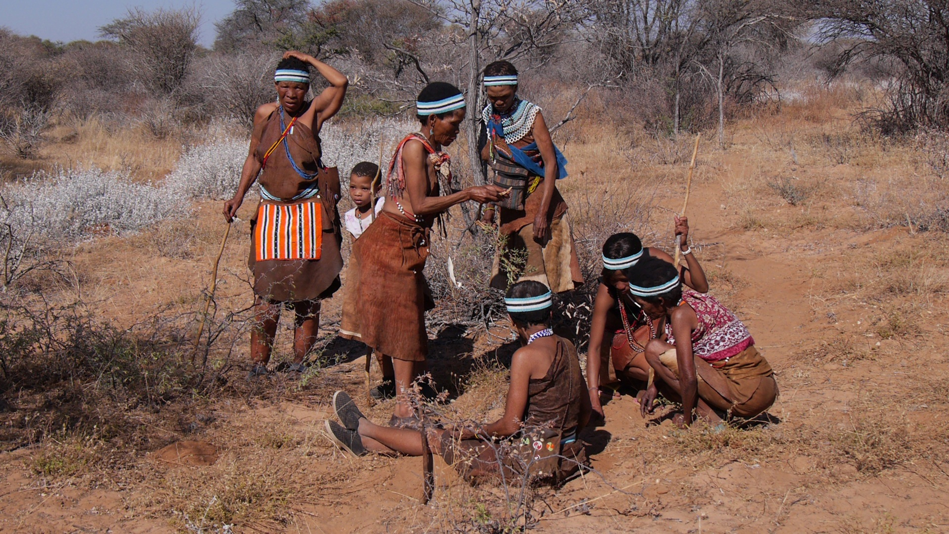 Indigenous people in Botswana