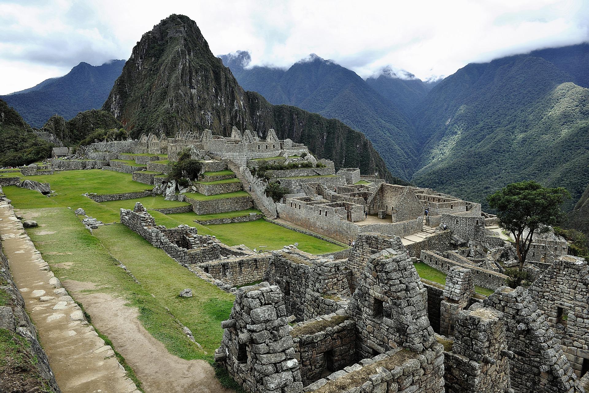 Inside Machu Picchu, Peru