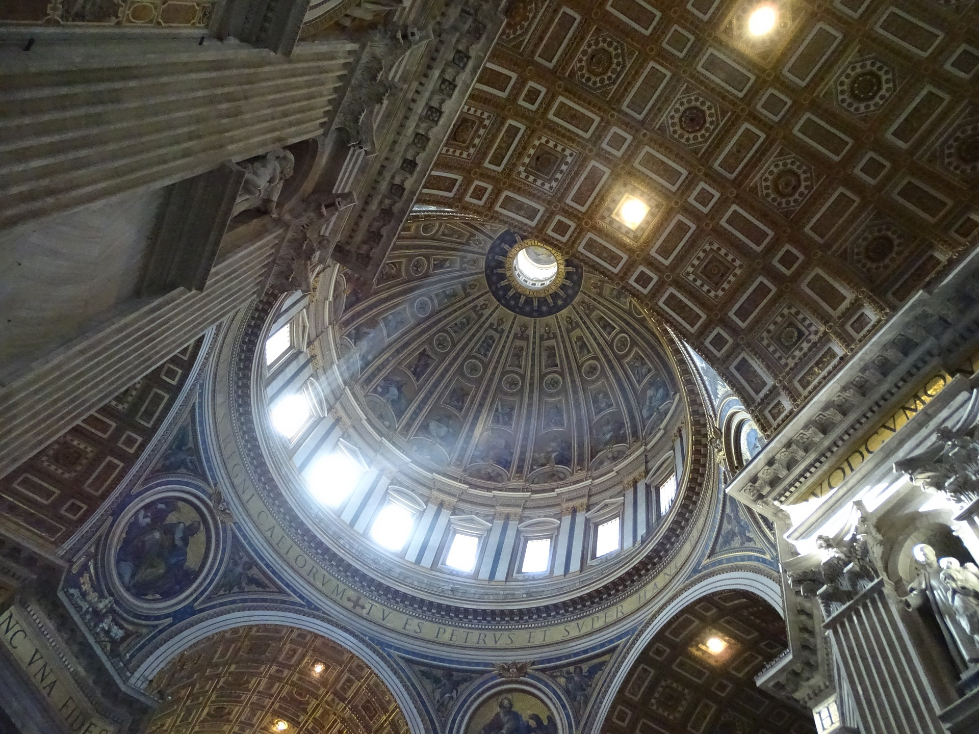 Inside St. Peter's Basilica, Rome
