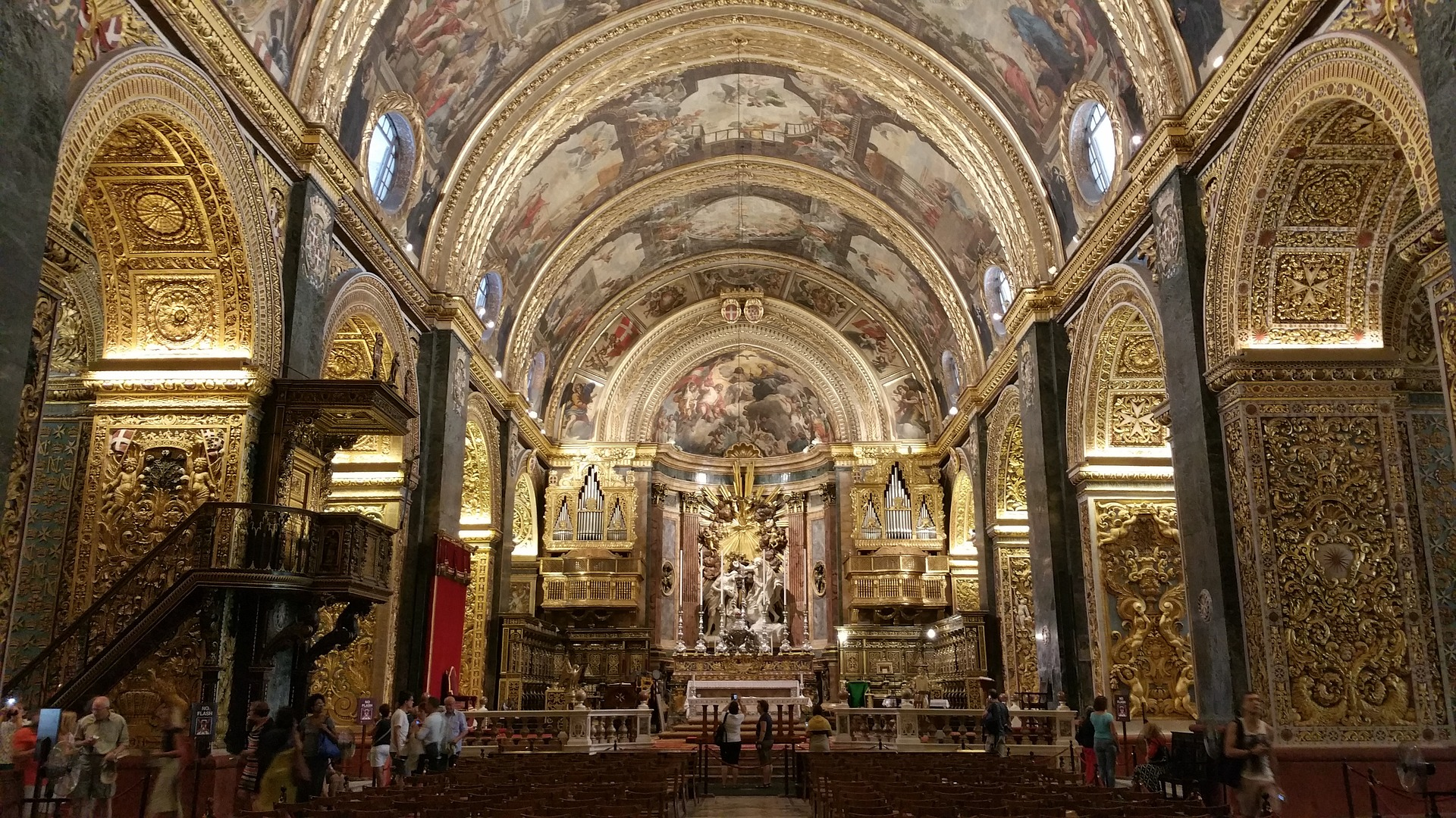 Inside The Co-Cathedral of St. John's