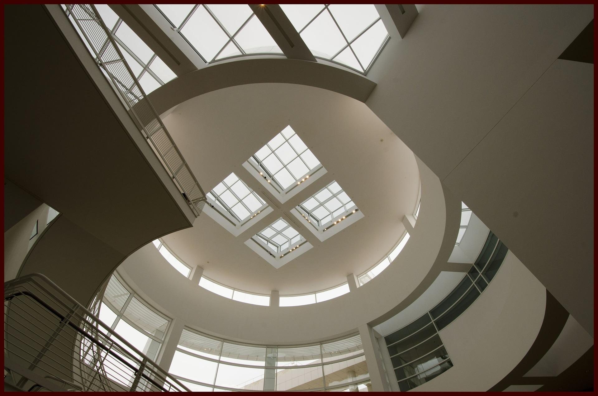 Inside the Jean Paul Getty Museum, Los Angeles