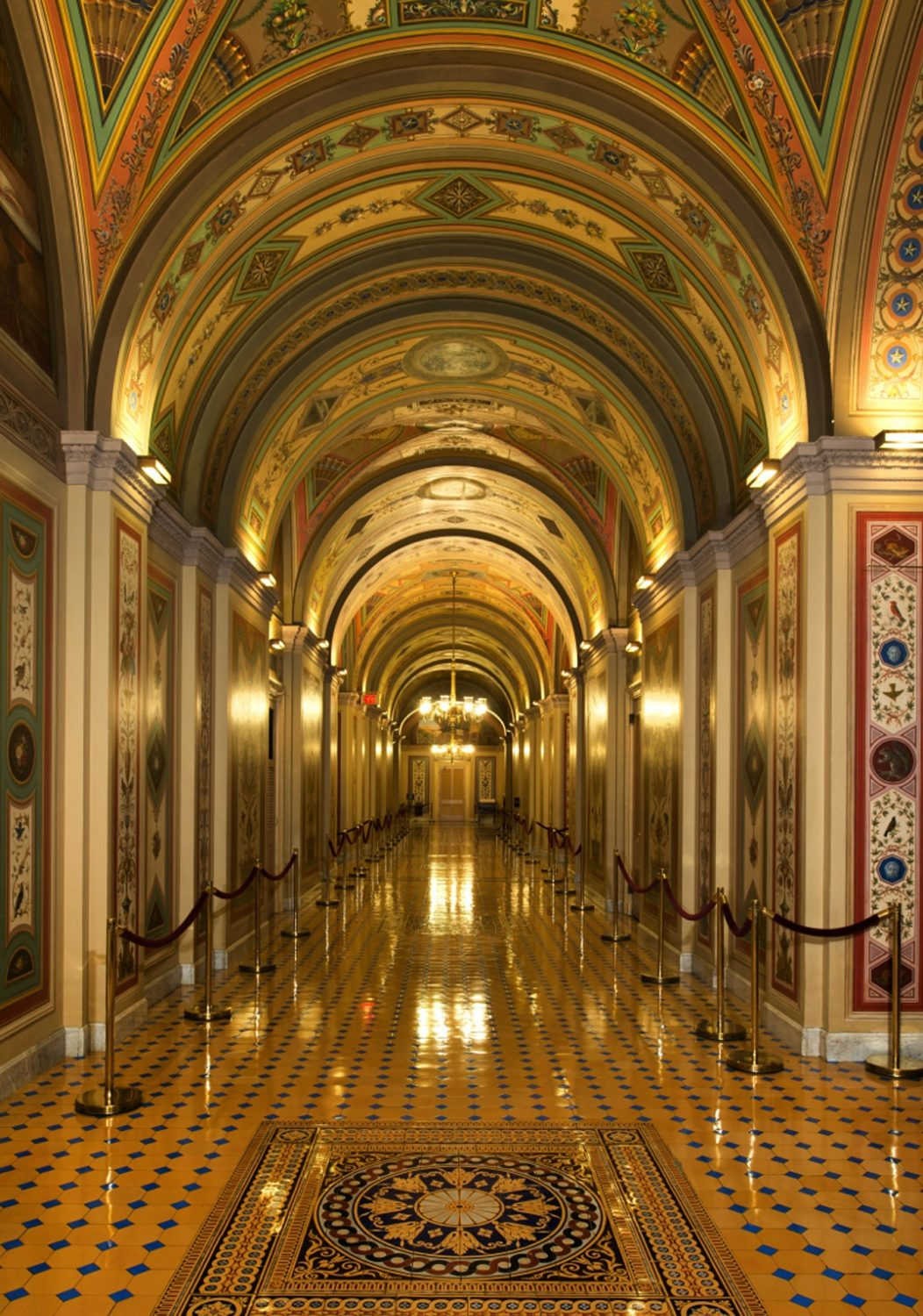 Inside the United States Capitol building, Washington, D.C.