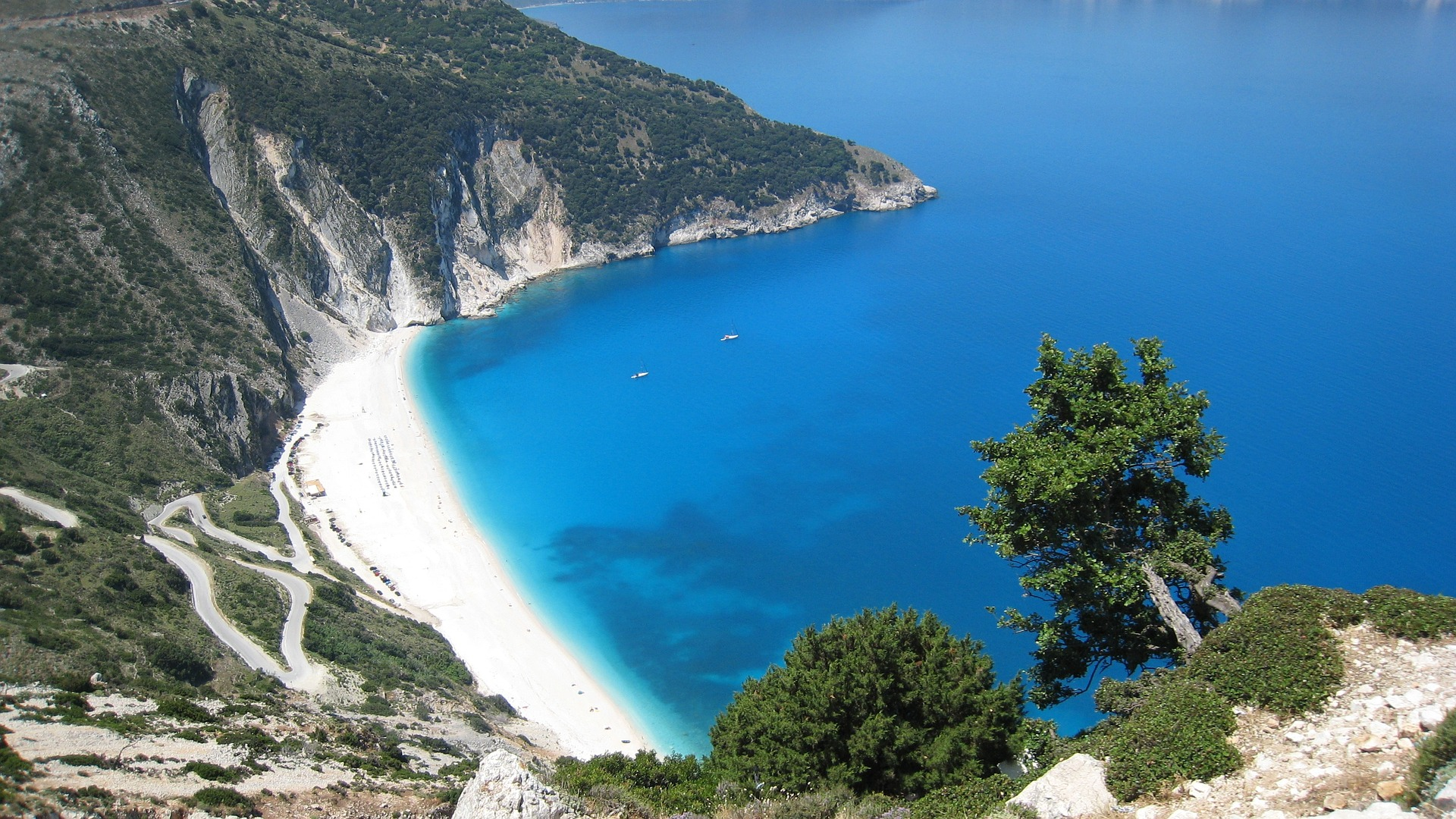 Island of Kefalonia, Greece