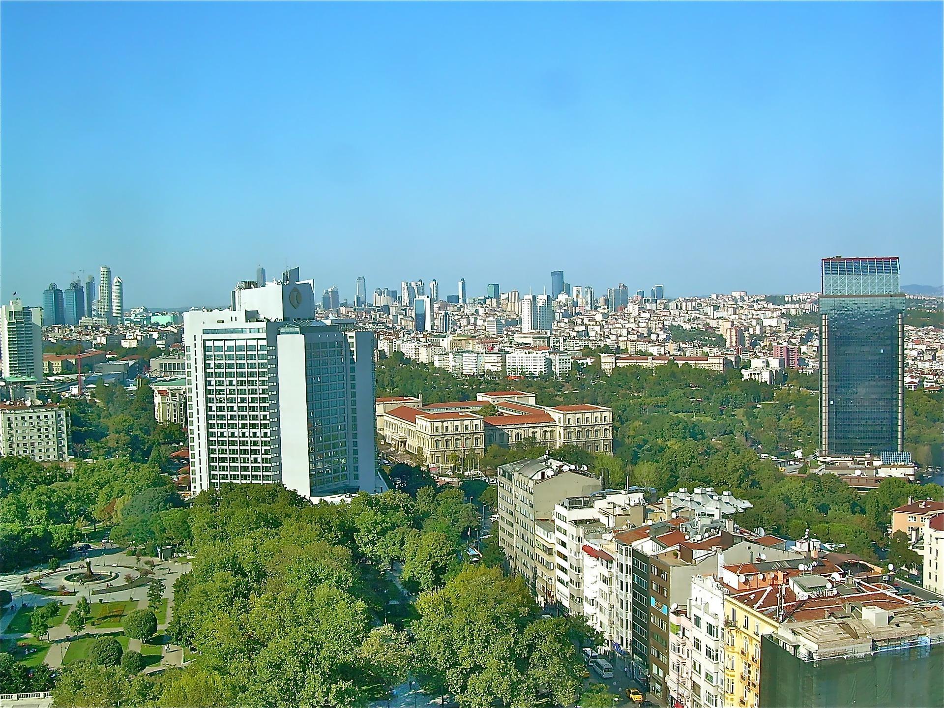 Istanbul, Turkey skyline