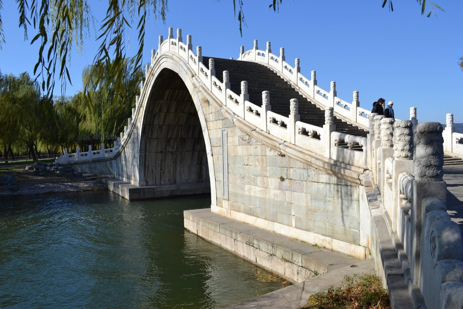 Jade Belt Bridge, Summer Palace, Beijing, China