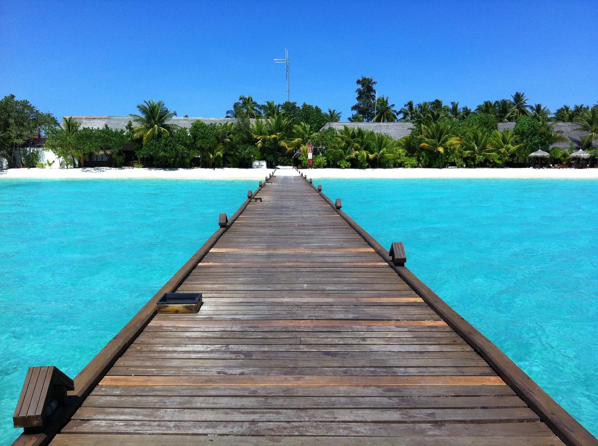 Kuredu Island resort in Maldives