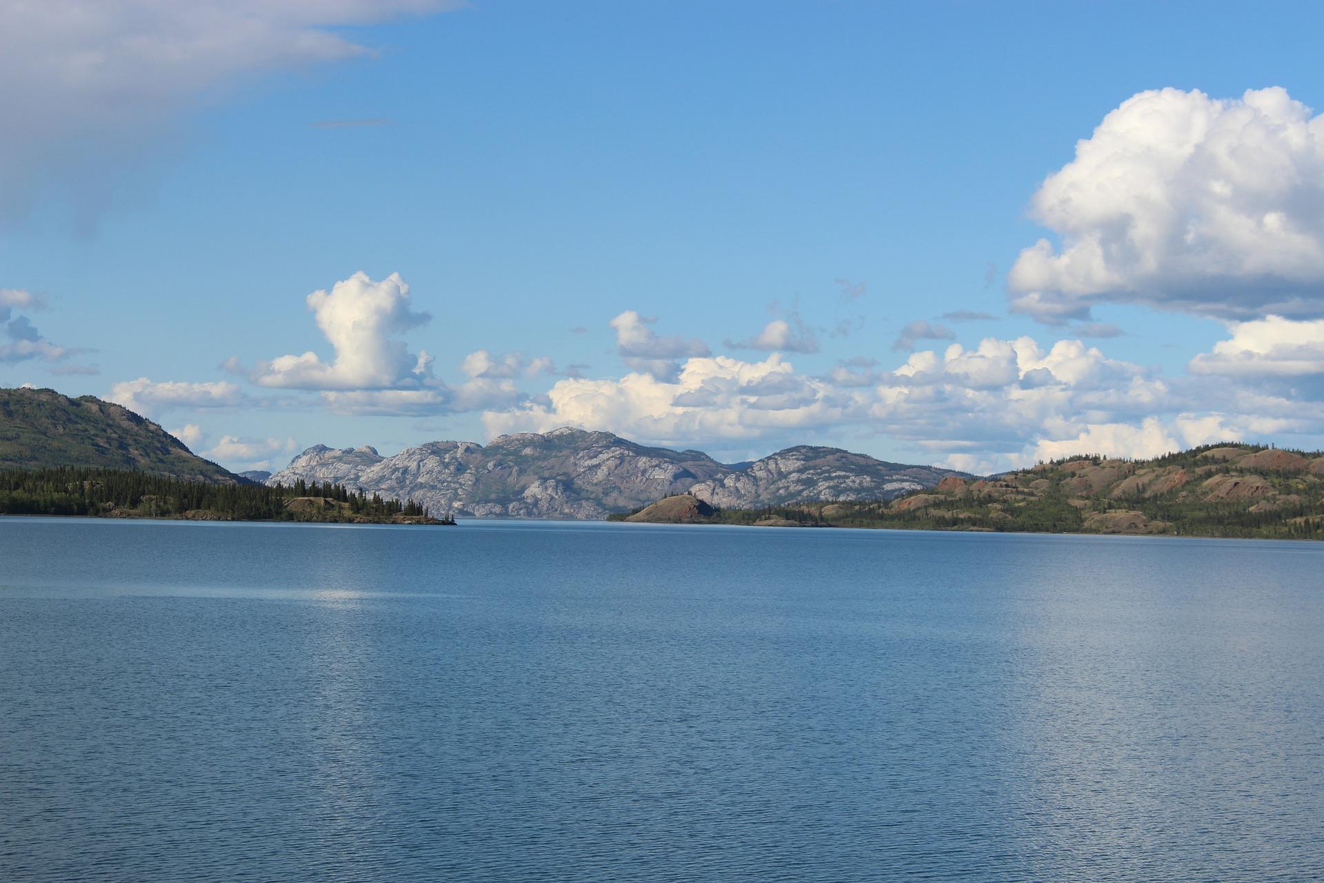 Lake Laberge, Brine, Yukon, Canada