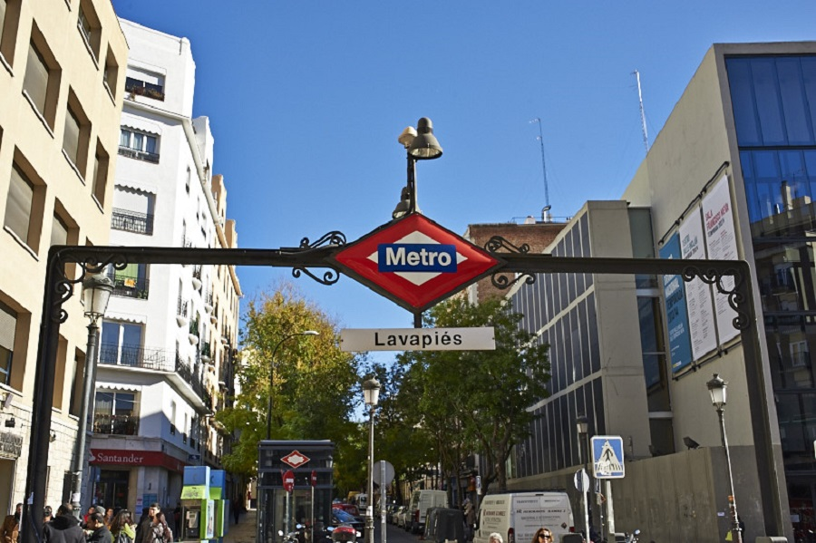 Lavapies Metro, Madrid, Spain