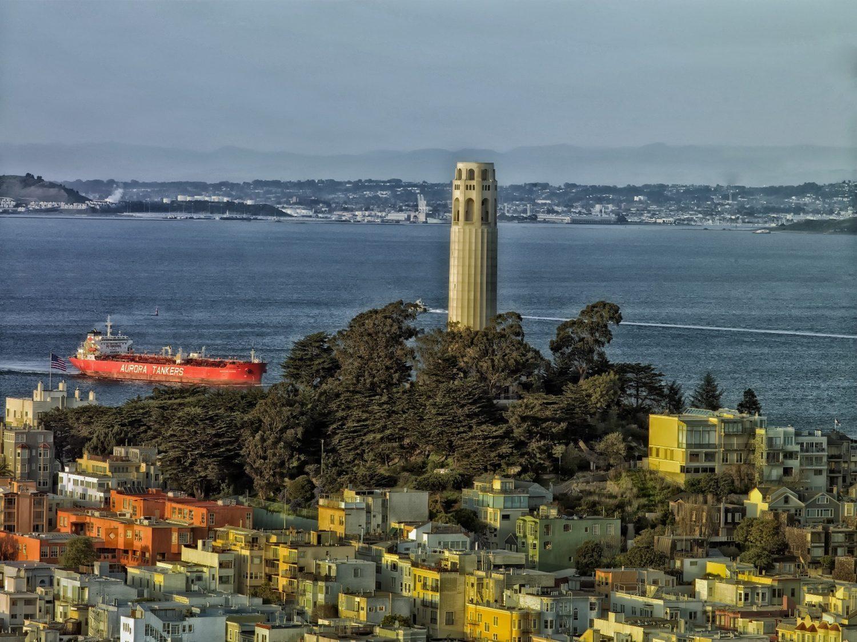 Lillian Coit Memorial Tower (Coit Tower, San Francisco, California