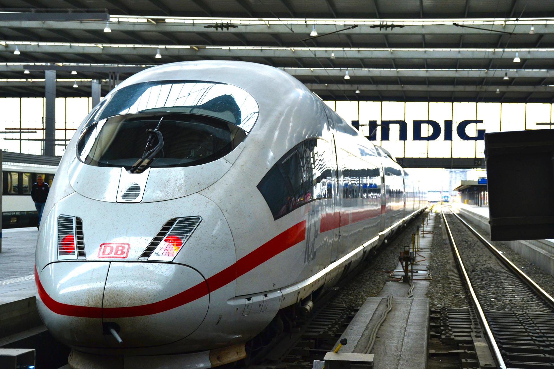 München Hauptbahnhof (Munich Central Station, Munich, Germany