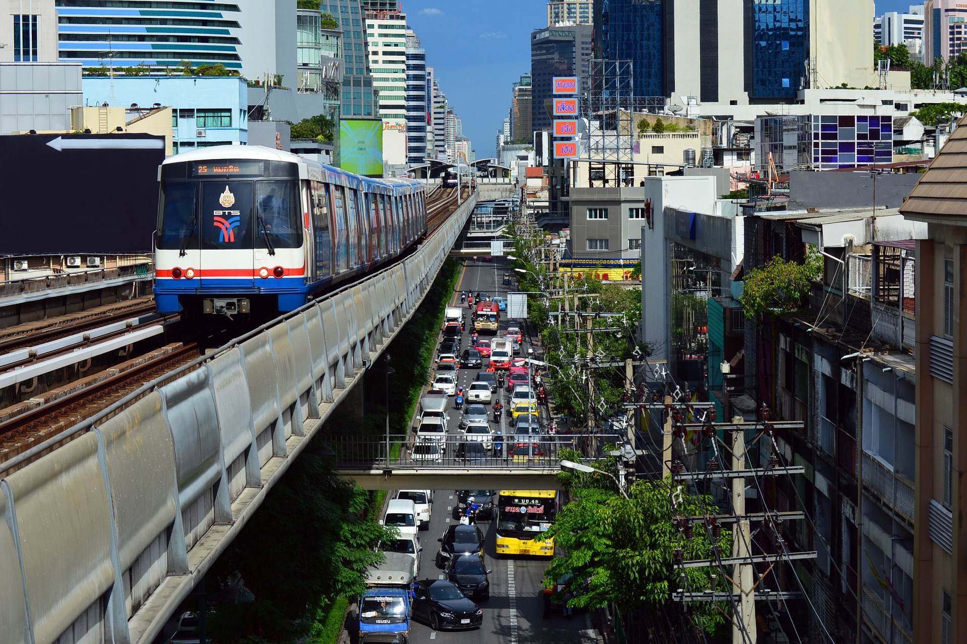 Metro Train in Bangkok, Thailand