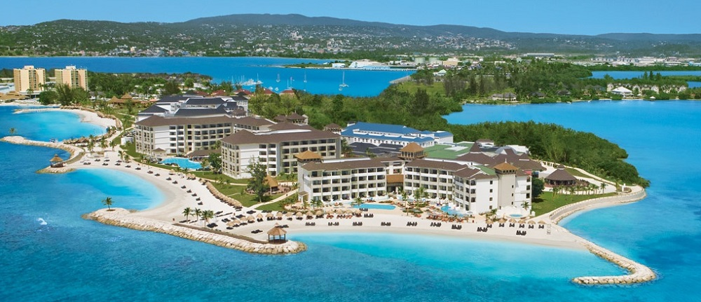 Montego Bay in Jamaica