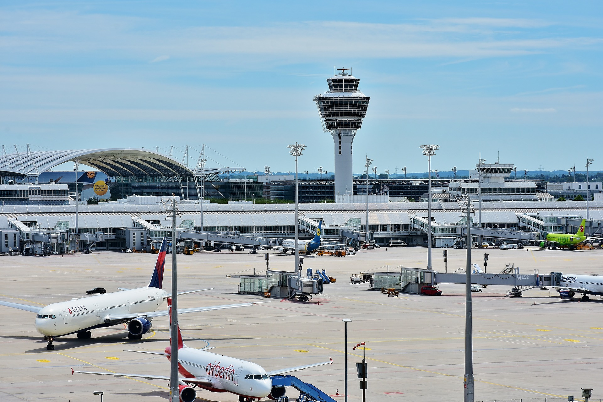 Munich Airport, Munich, Germany