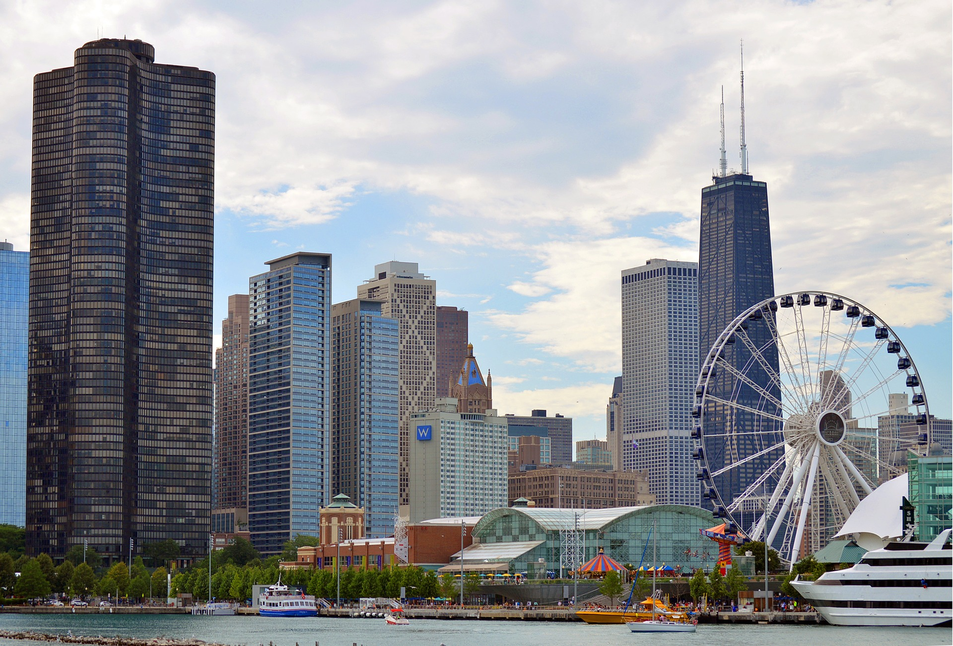 Navy Pier in Chicago