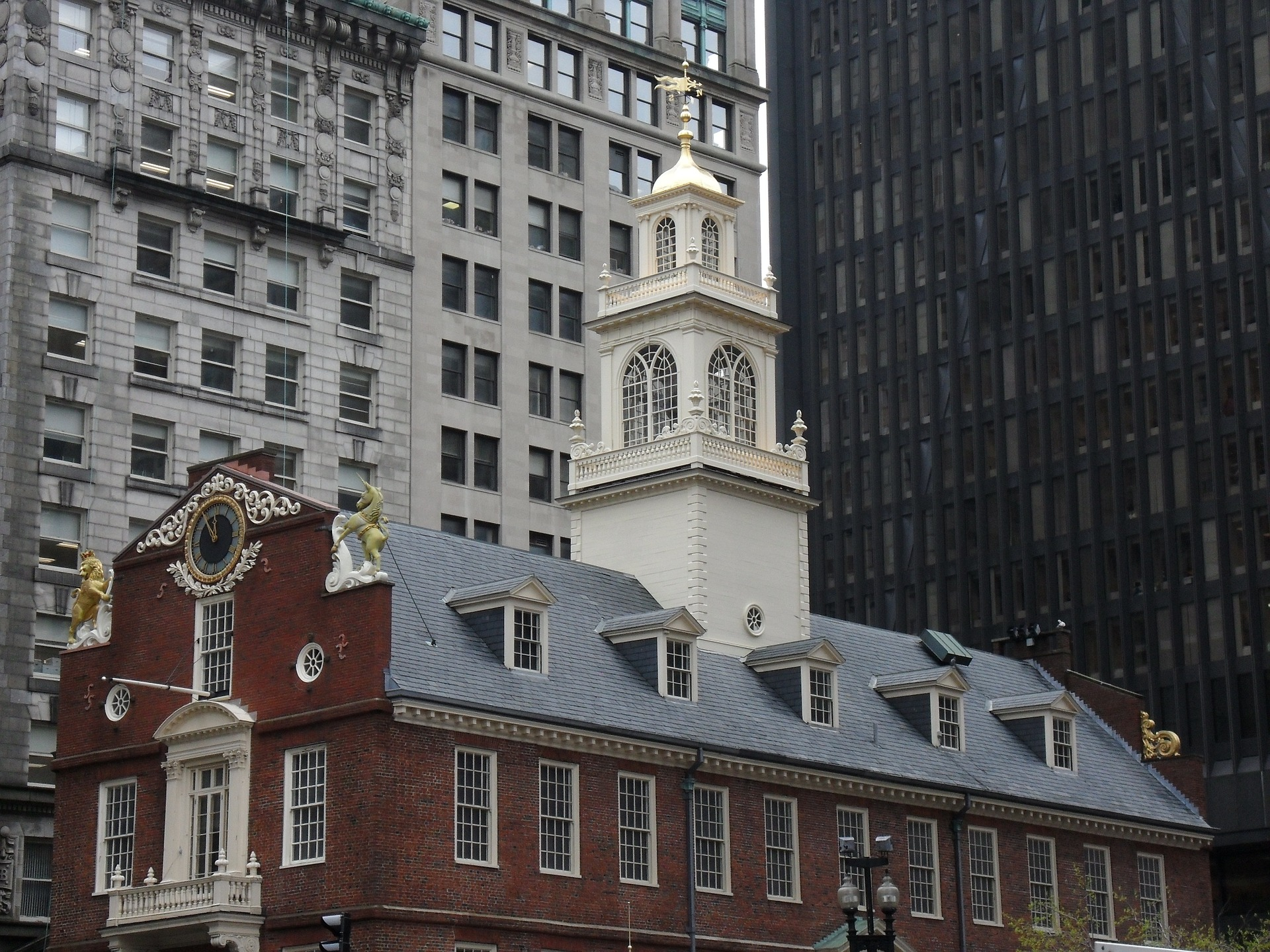 Old State House (Freedom Trail) in Boston, Massachusetts