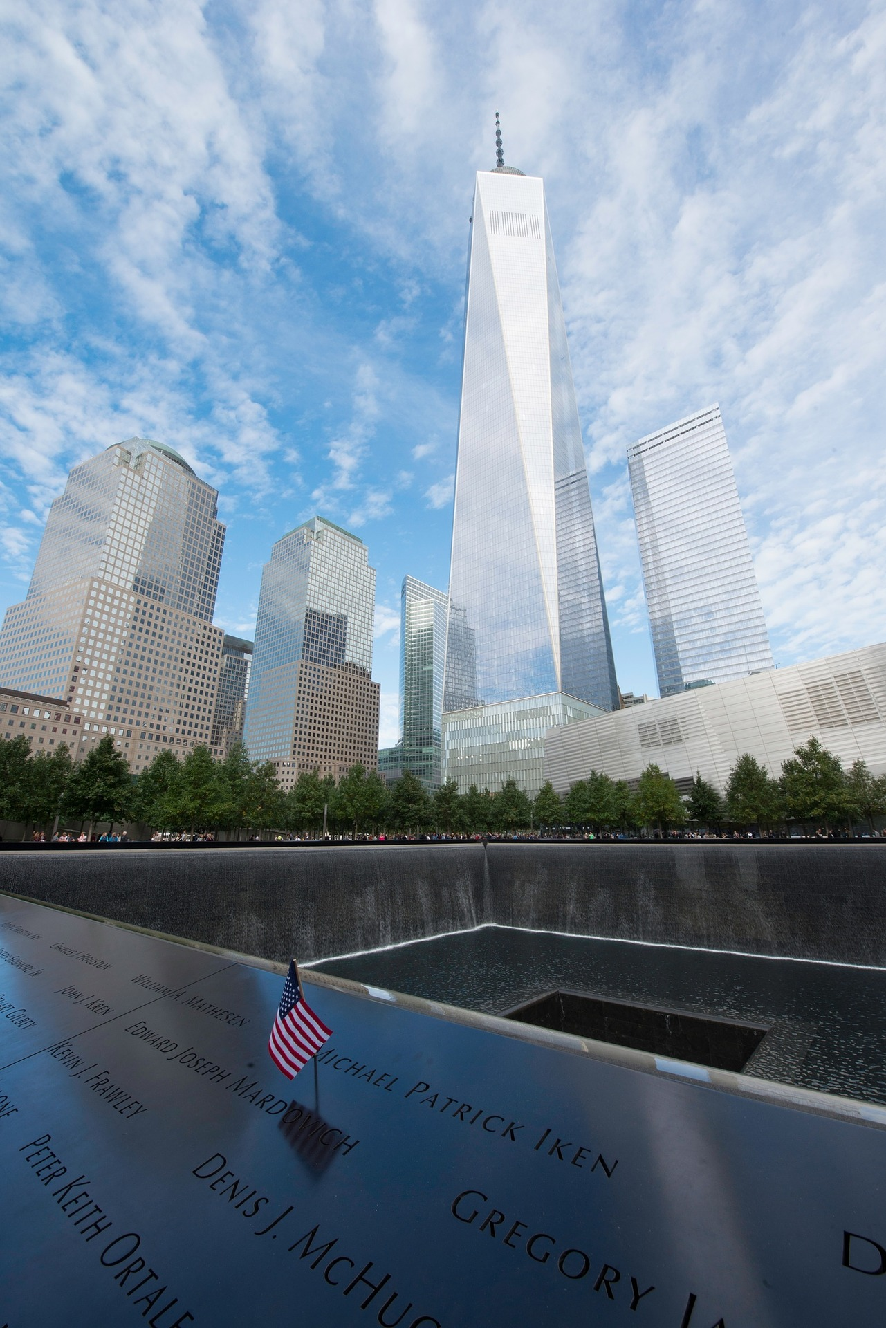 One World Trade Center and 911 Memorial, New York City