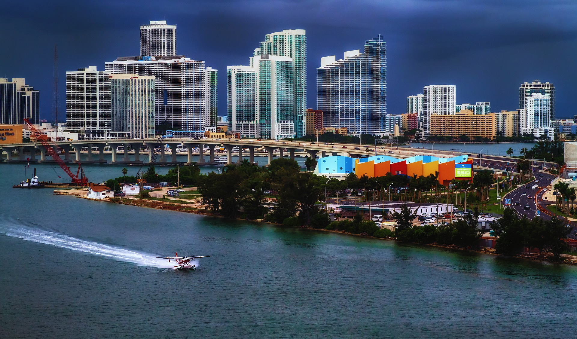 Port in Miami, Florida