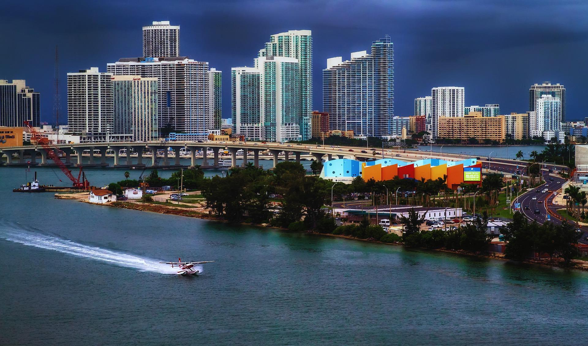 Port in Miami, Florida