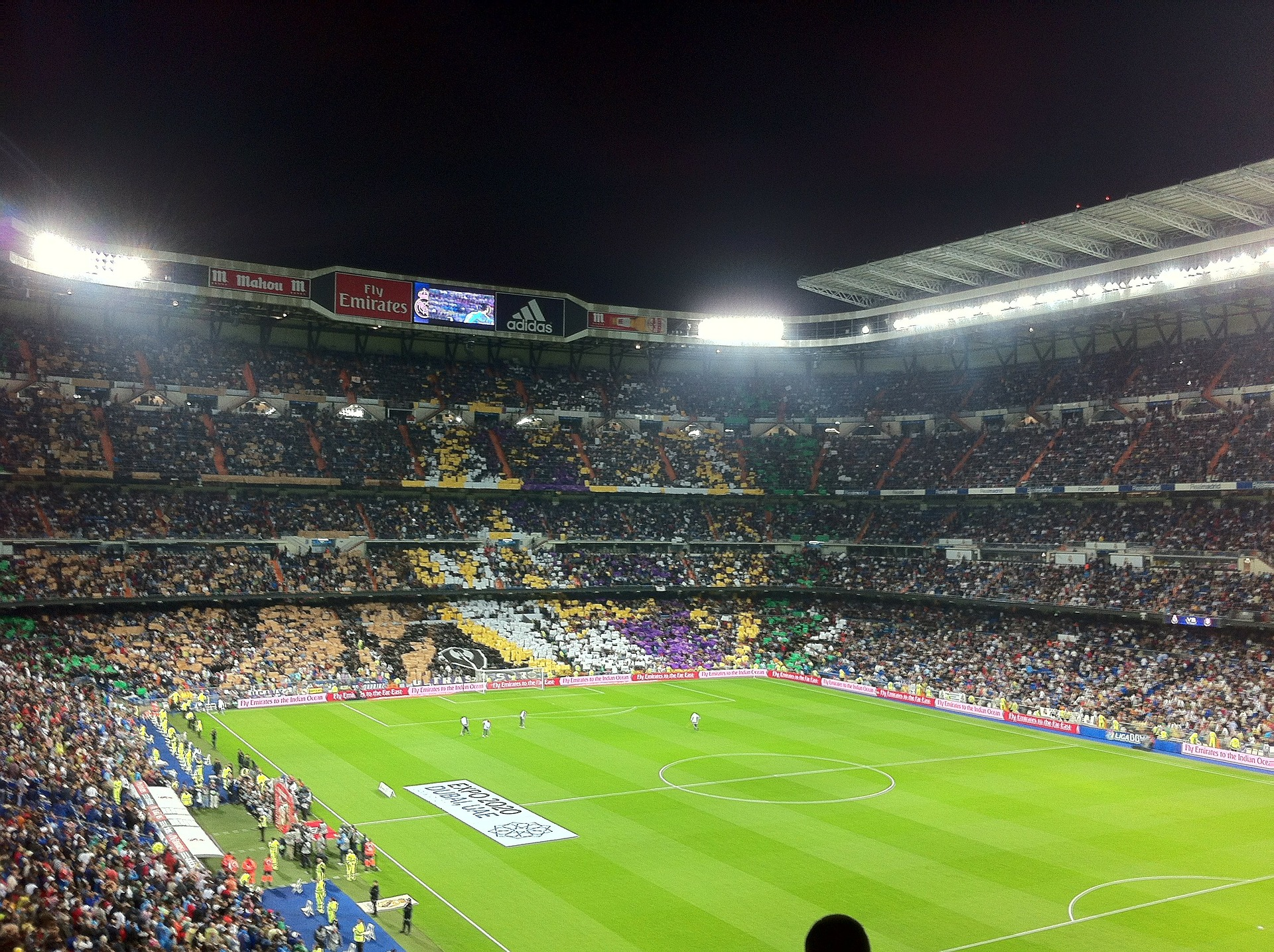 Real Madrid Footbal Stadium, Madrid, Spain