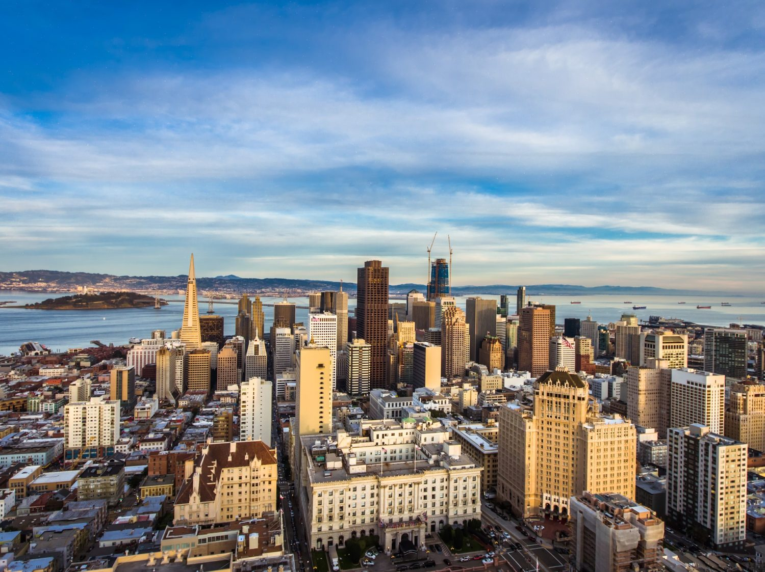 San Francisco, California skyline