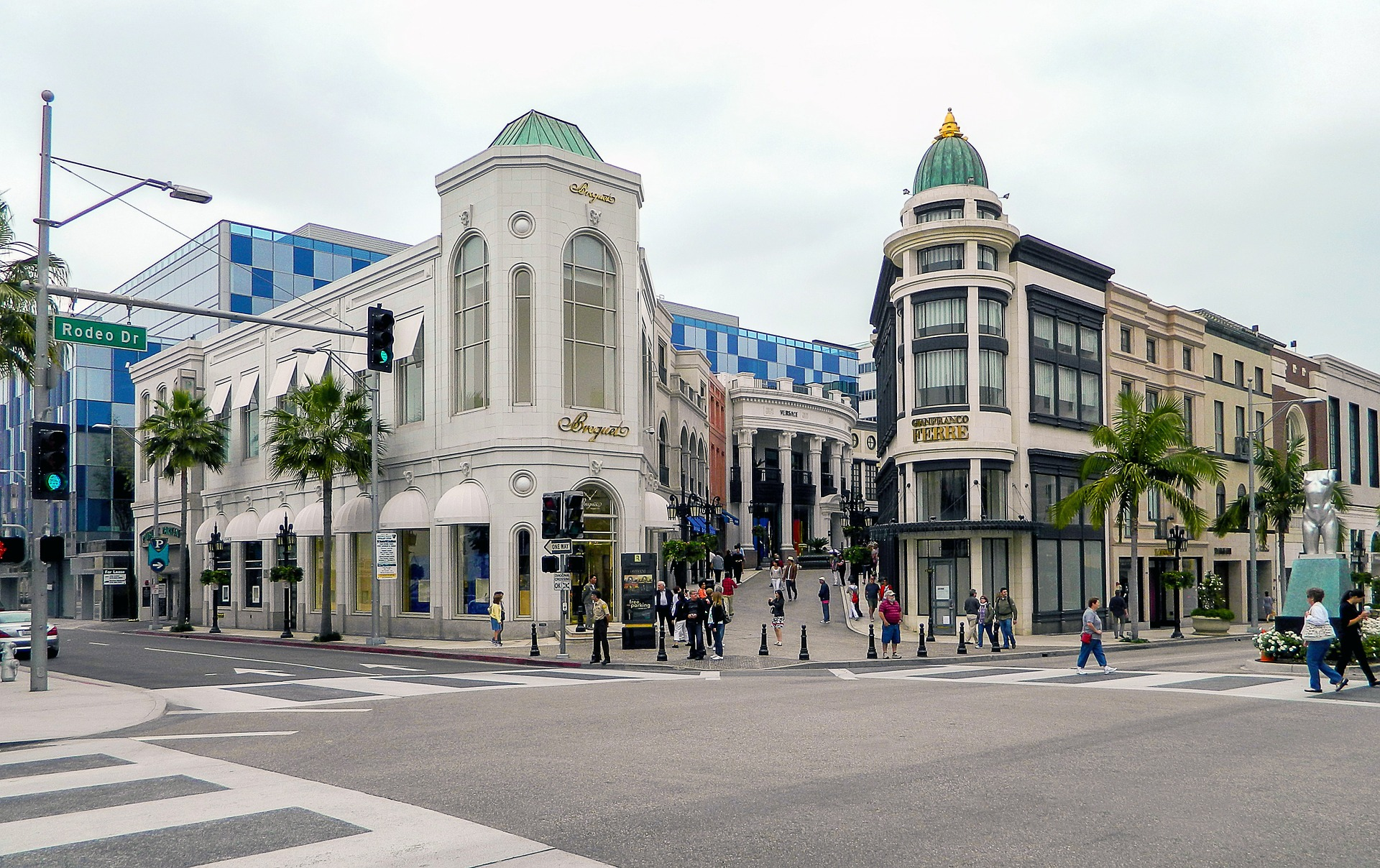 Shops on Rodeo Drive, Los Angeles