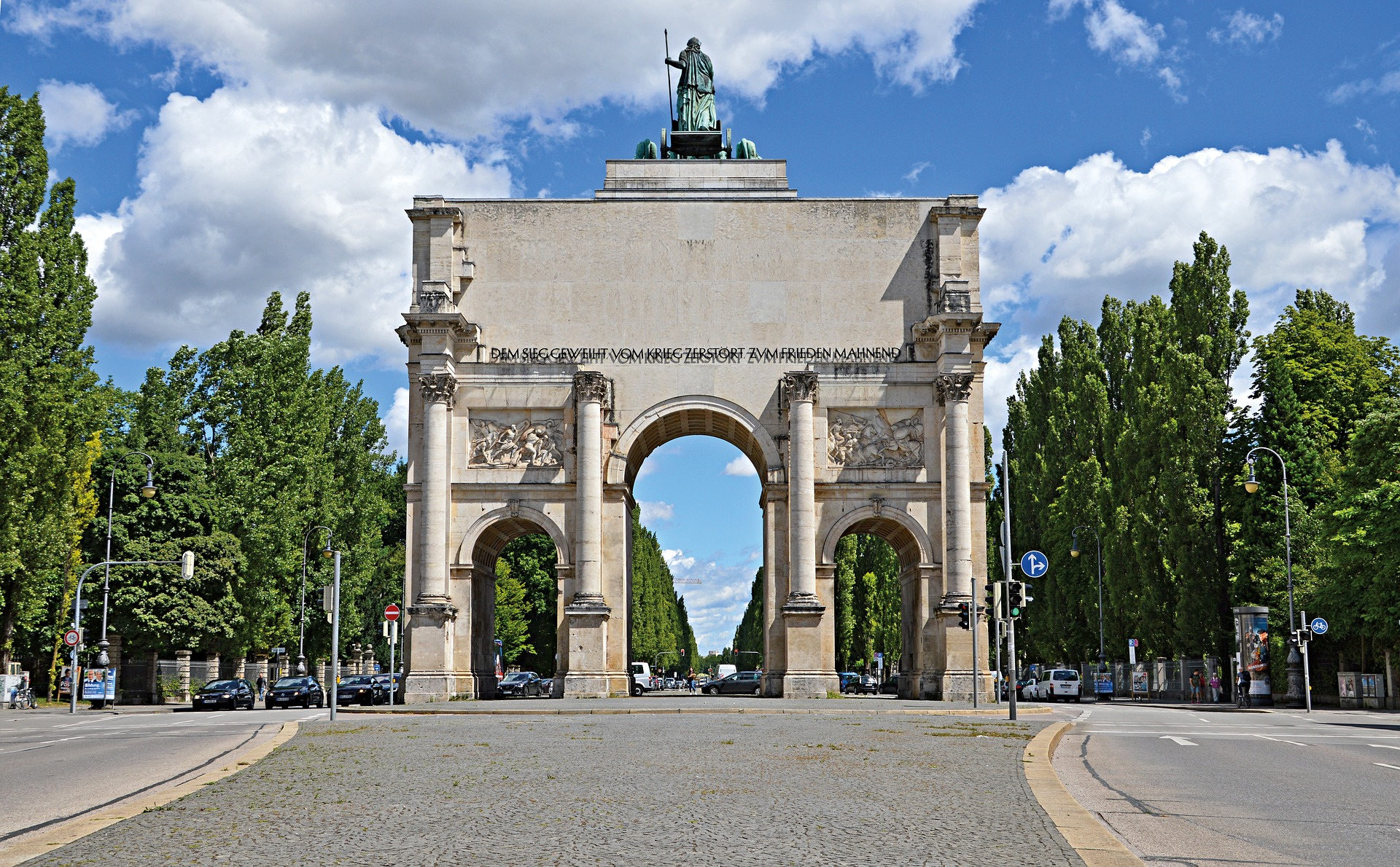Siegestor, Munich, Germany