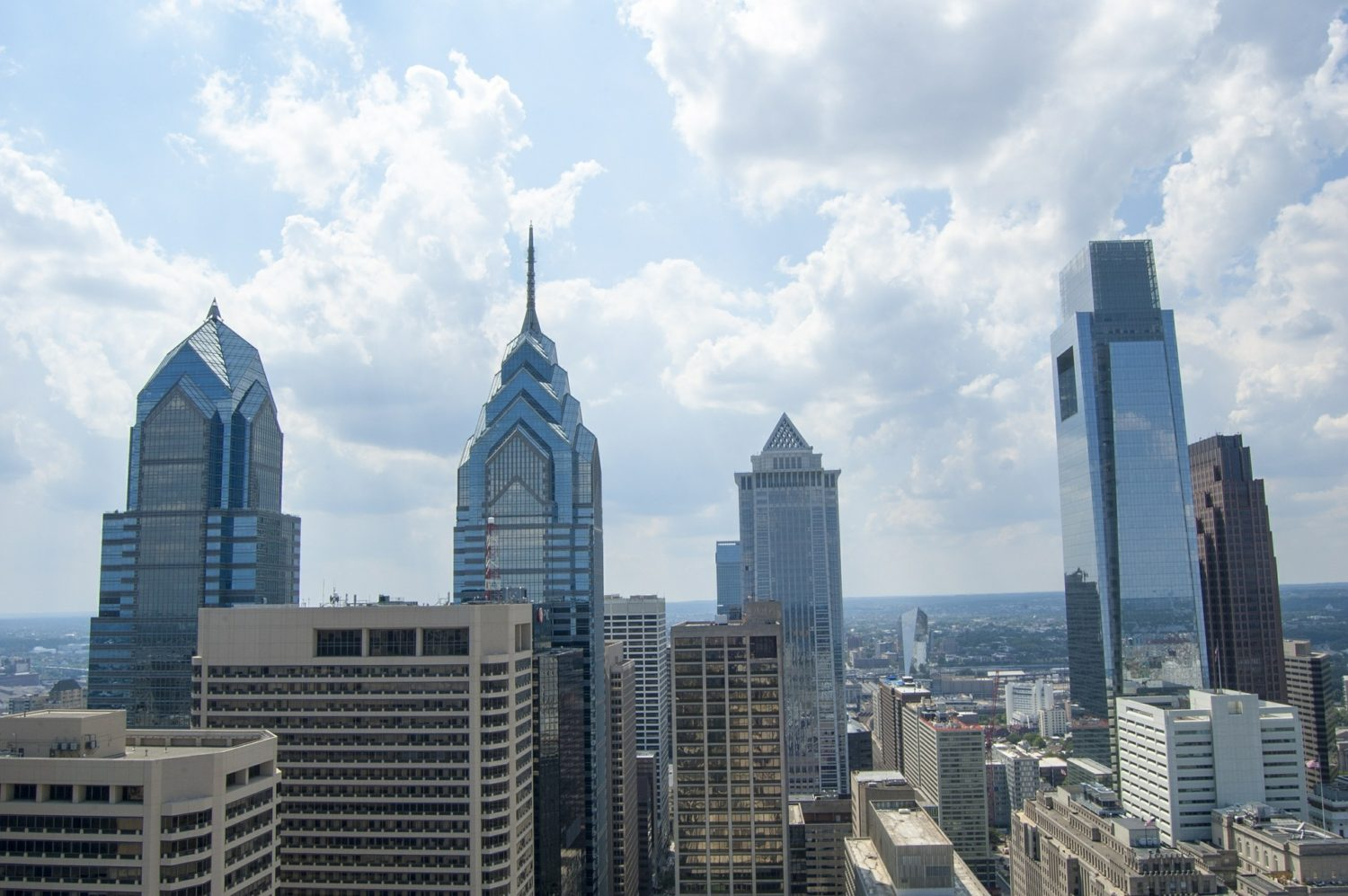 Skyscrapers in Philadelphia, Pennsylvania