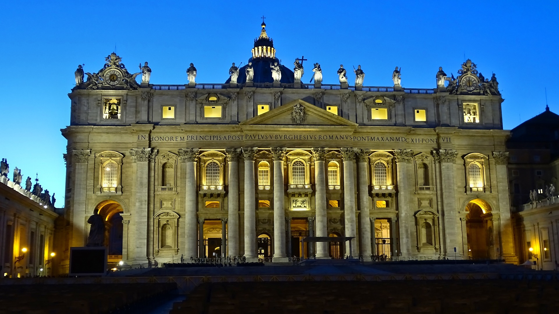 St. Peter's Basilica in Vatican City, Rome, Italy