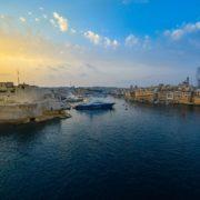 Sunrise in Valletta, Malta