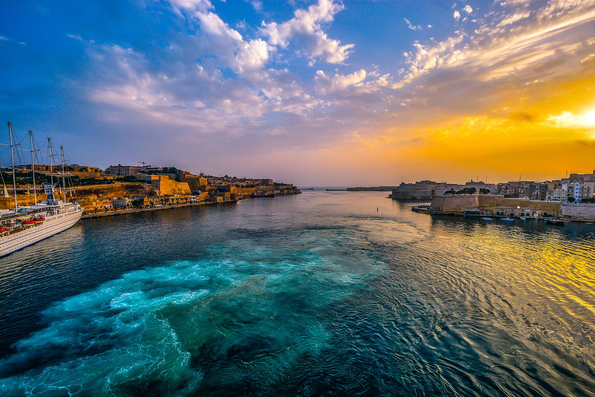 Sunset in Malta