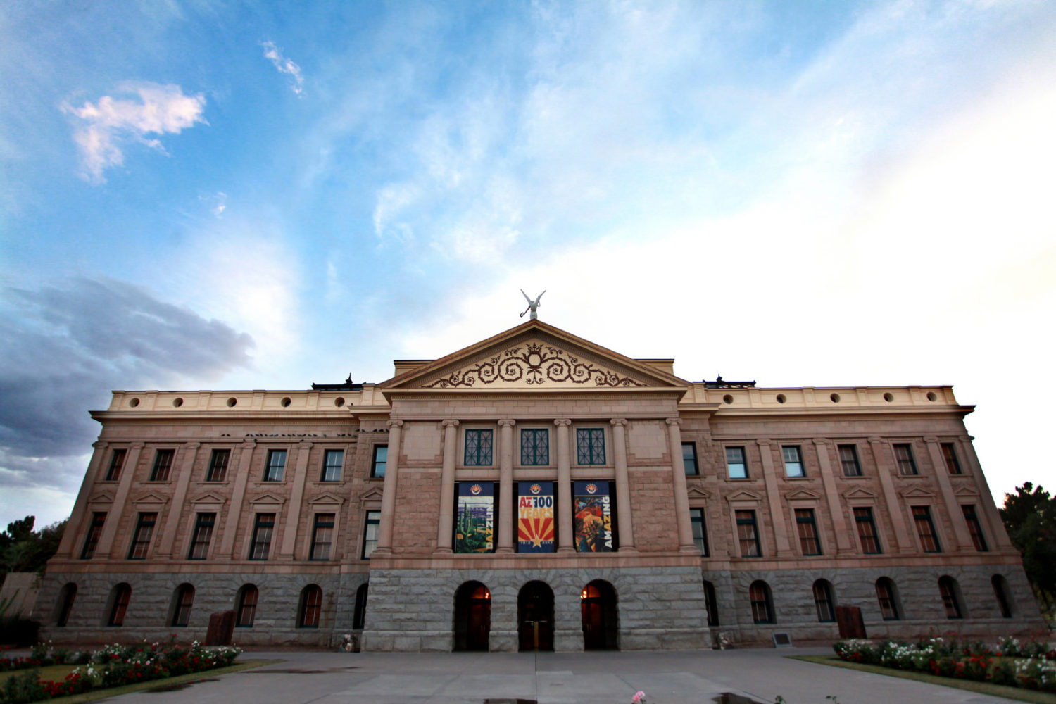 The Arizona State Capitol in Phoenix, Arizona, United States