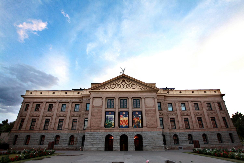 The Arizona State Capitol in Phoenix, Arizona, United States