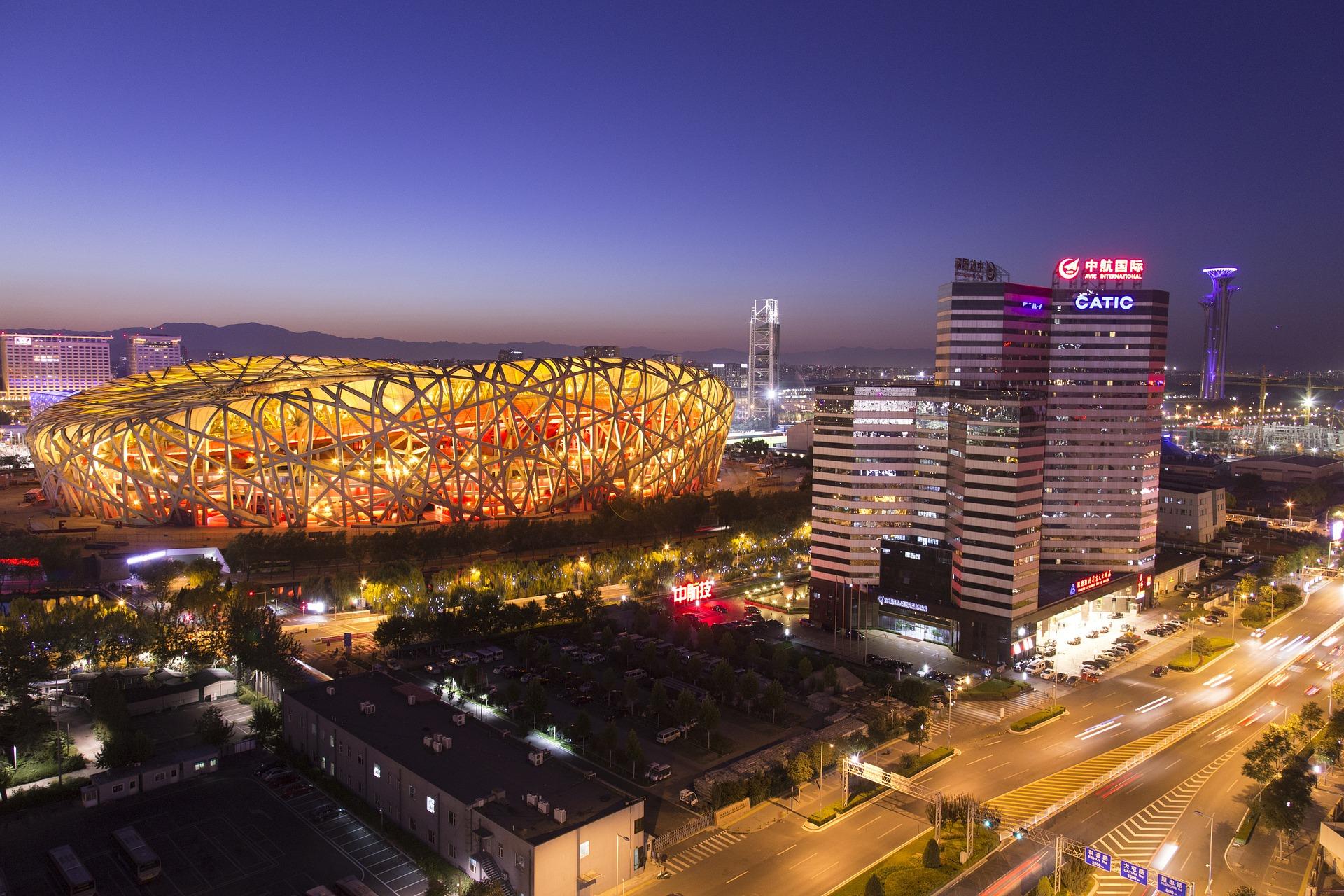 The Bird's Nest Stadium, Beijing, China