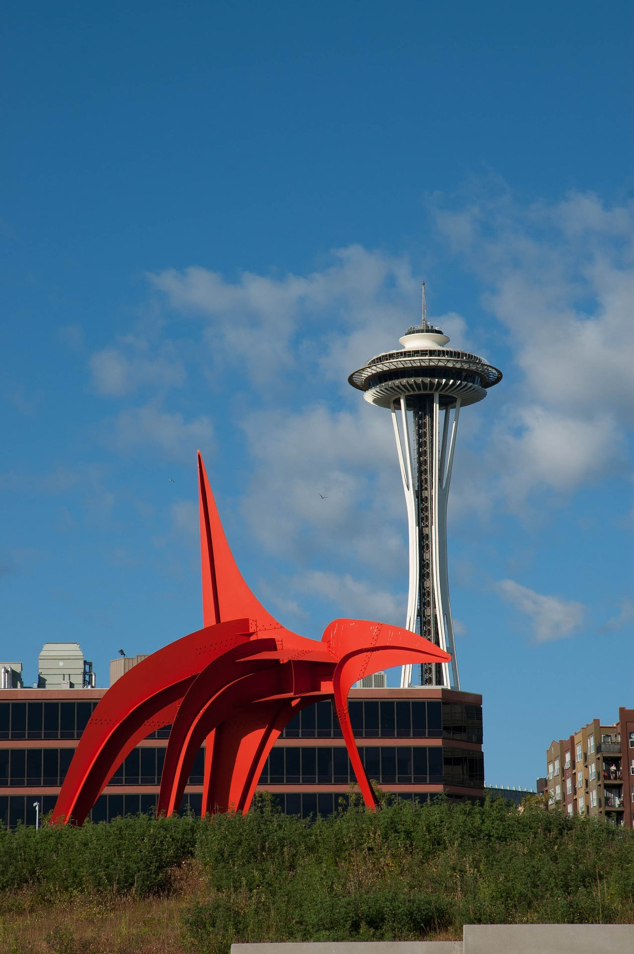 The Eagle in the Olympic Sculpture Park, Seattle, Washington