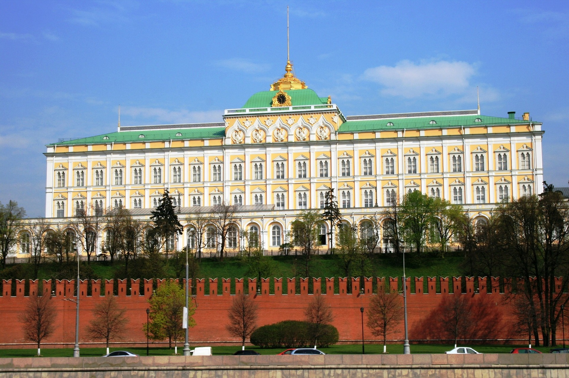 The Grand Kremlin Palace, also translated Great Kremlin Palace, Moscow, Russia