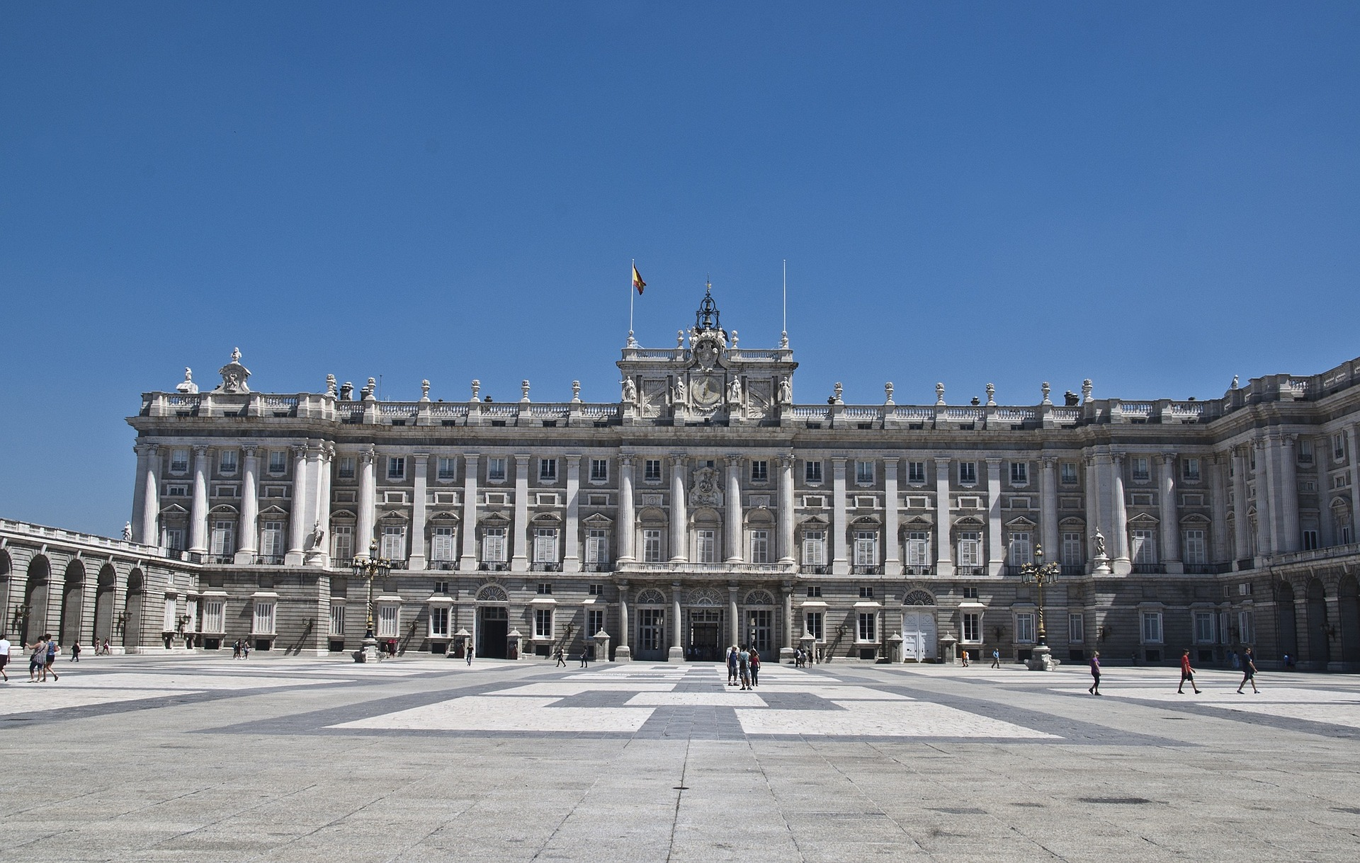 The Royal Palace (Palacio Real), Madrid, Spain
