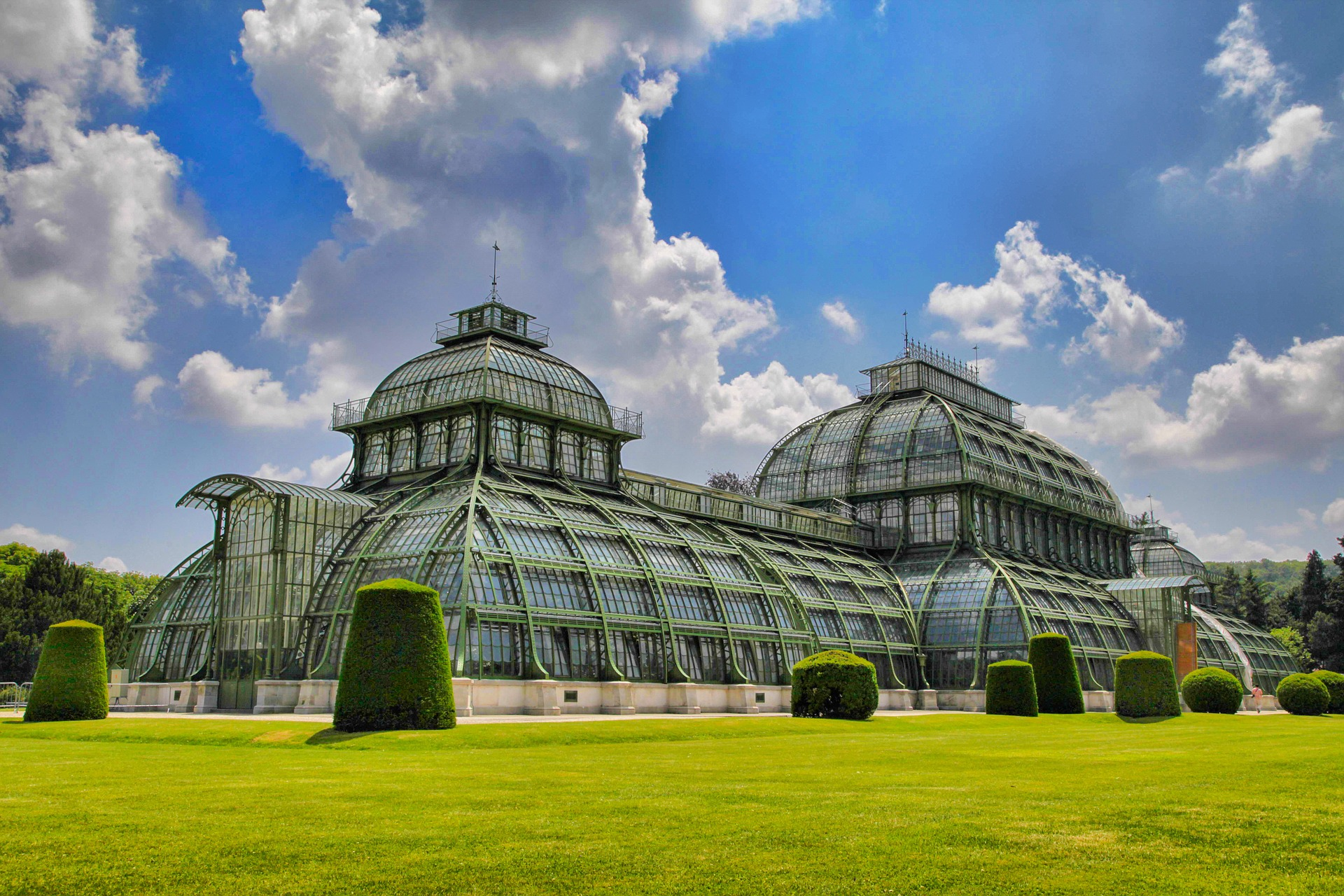The Schönbrunn Palm House, Vienna