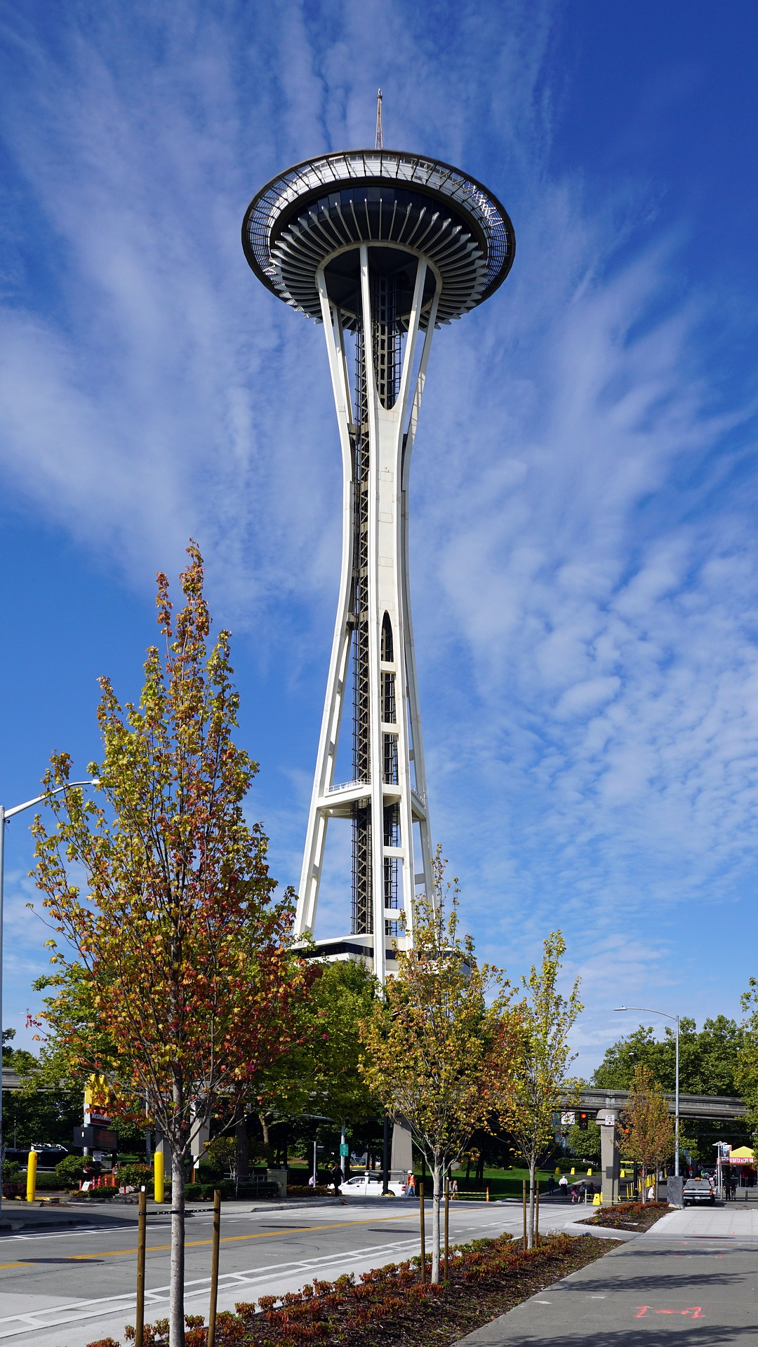 The Space Needle, Seattle, Washington