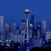 The Space Needle in Seattle, Washington