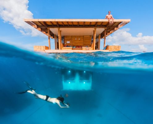 The Underwater Room at Manta Resort-Pemba Island, Zanzibar